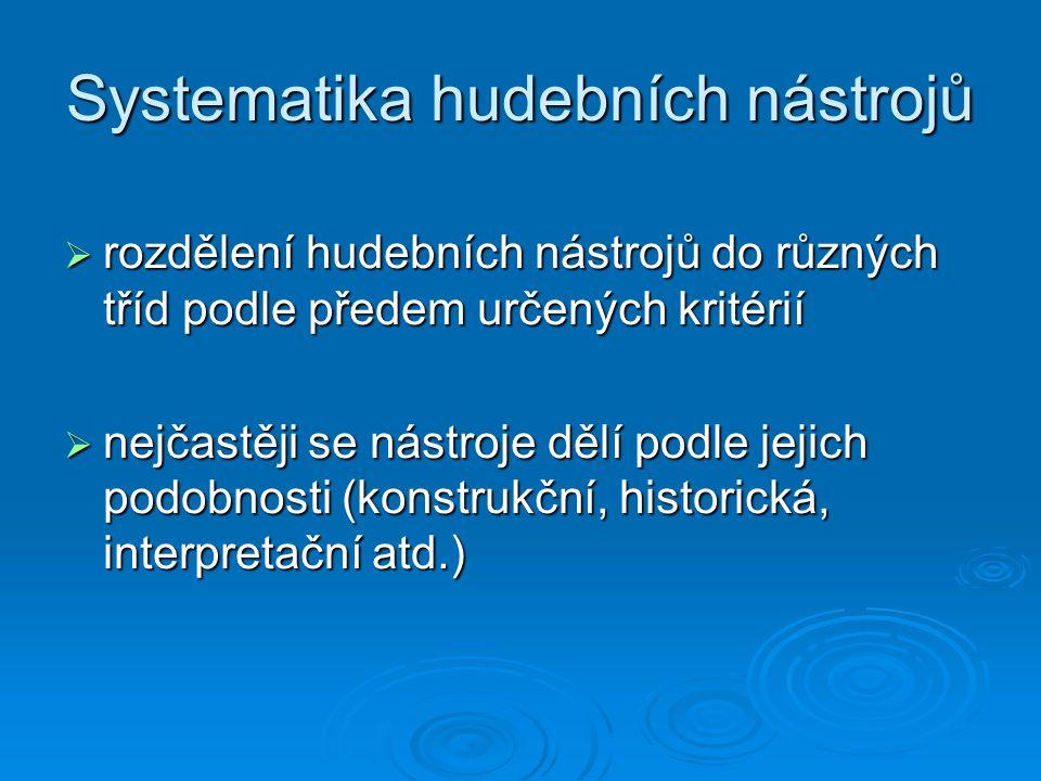 Systematiky řeckých a latinských filosofů strunnédechovébicí (lidský hlas)
