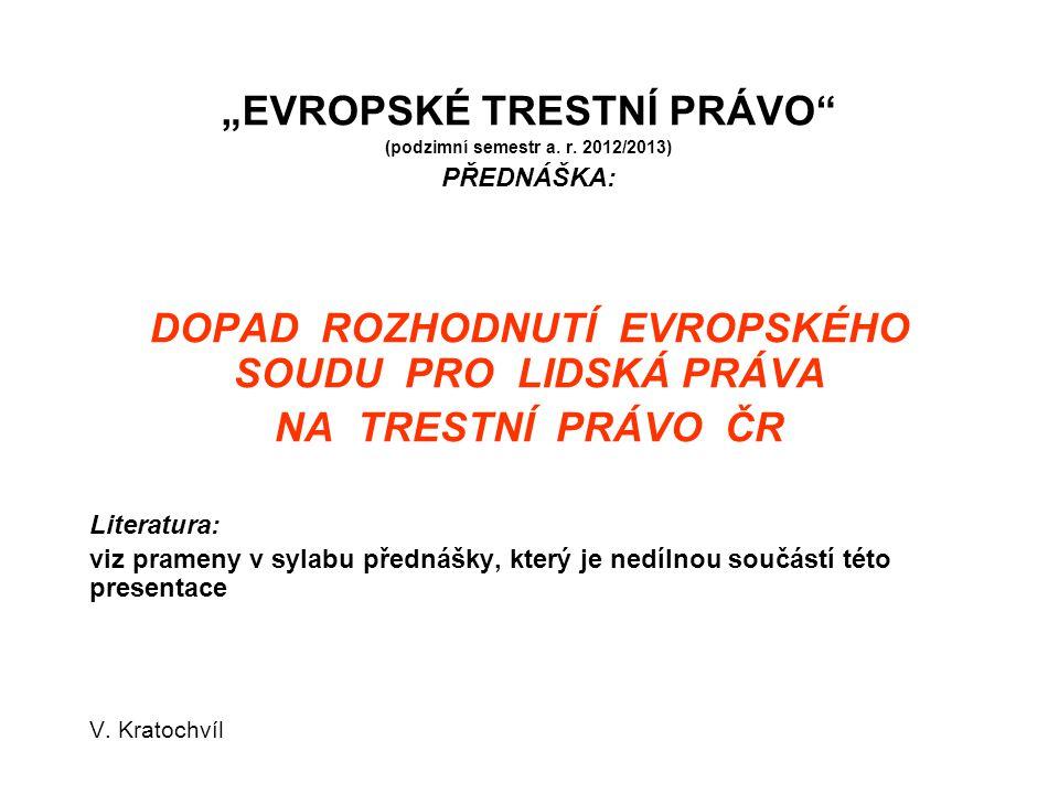 ) Trifkovic v Croatia (6.11.