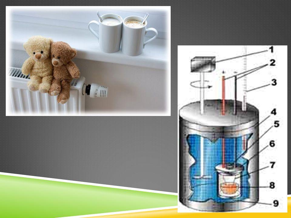 SLOVÍČKO ZÁVĚREM…  Teplo je energie.  Při určování množství tepla využíváme kalorimetr.