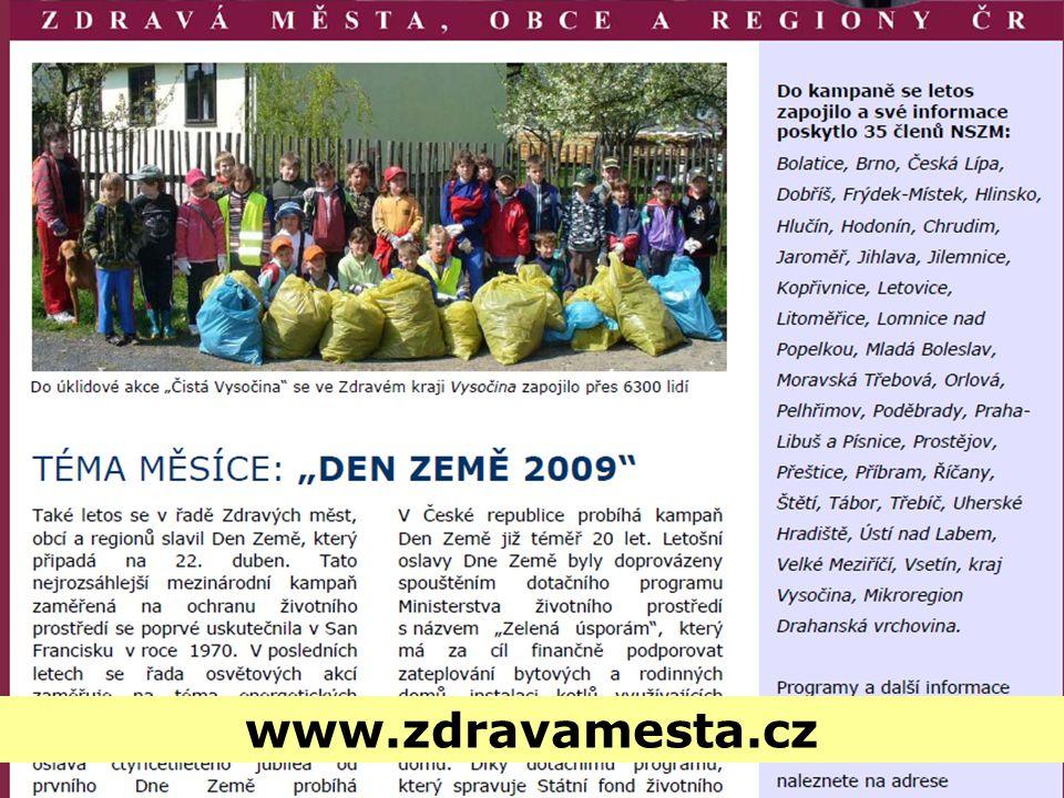www.zdravamesta.cz