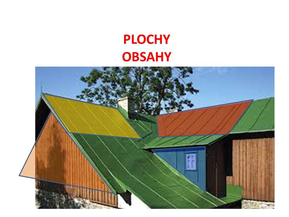 PLOCHY OBSAHY