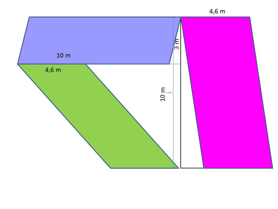 10 m 3 m 4,6 m
