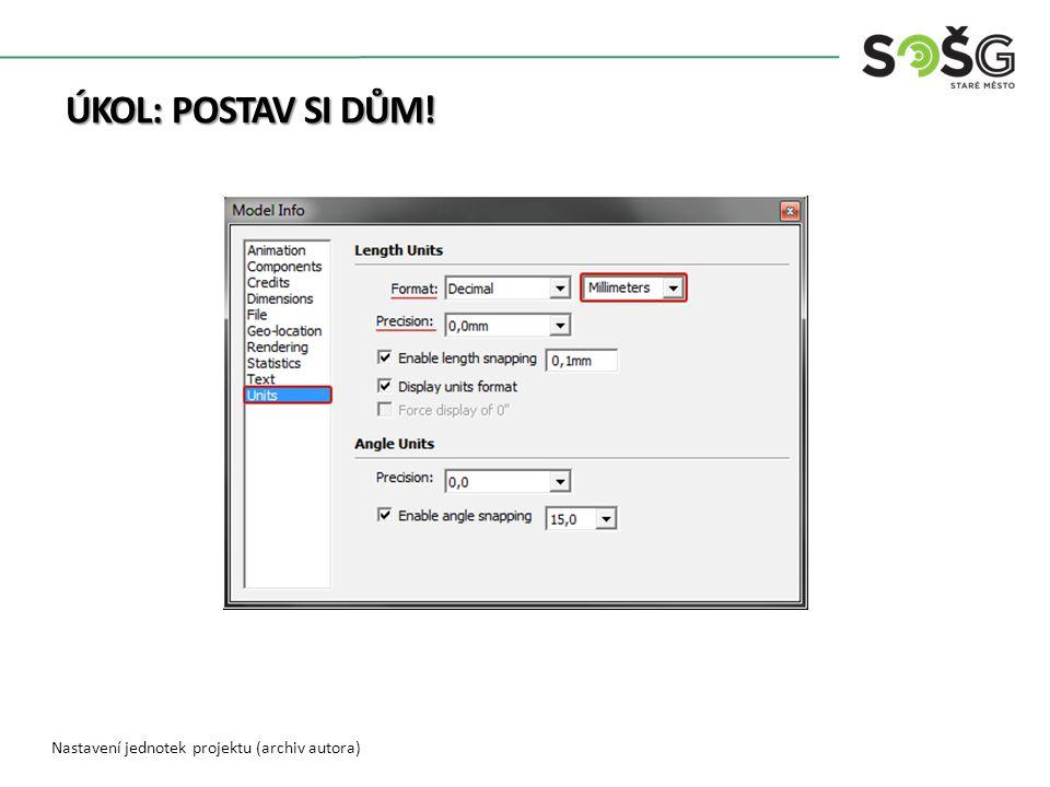 OPAKOVÁNÍ OPAKOVÁNÍ Použijte nástroj Model info. K čemu tento nástroj slouží?