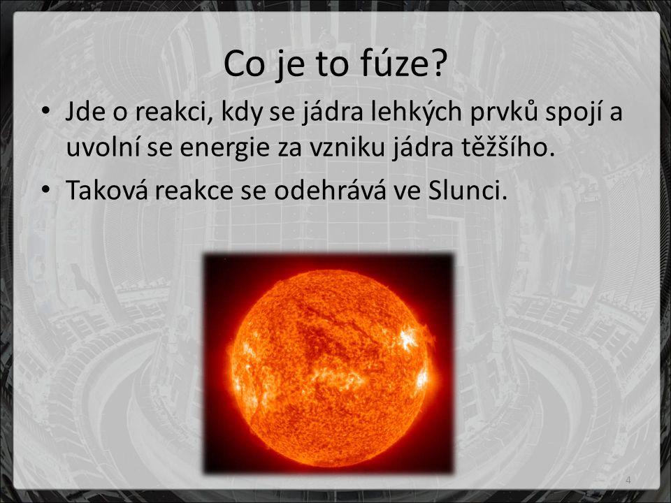 Co je to fúze.