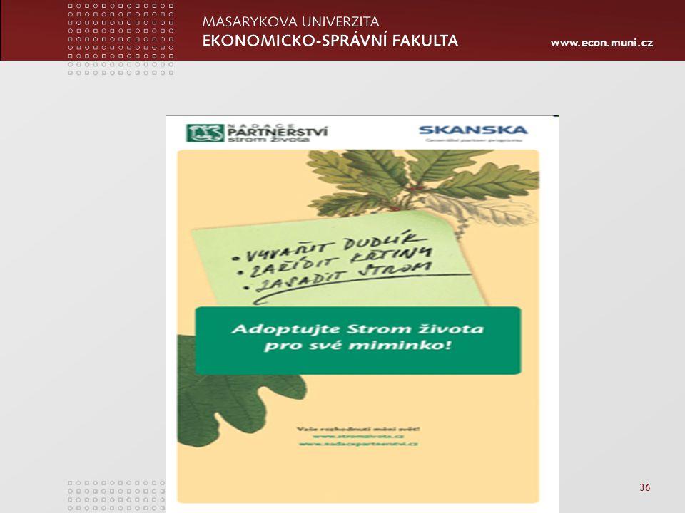 www.econ.muni.cz 36