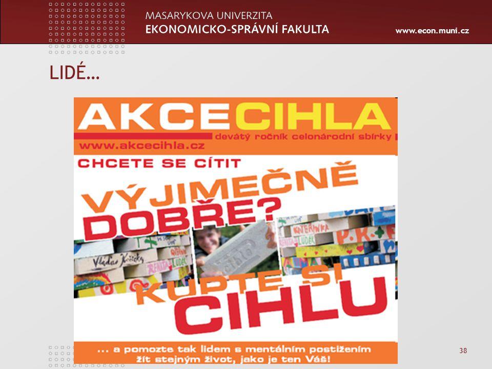 www.econ.muni.cz LIDÉ… 38