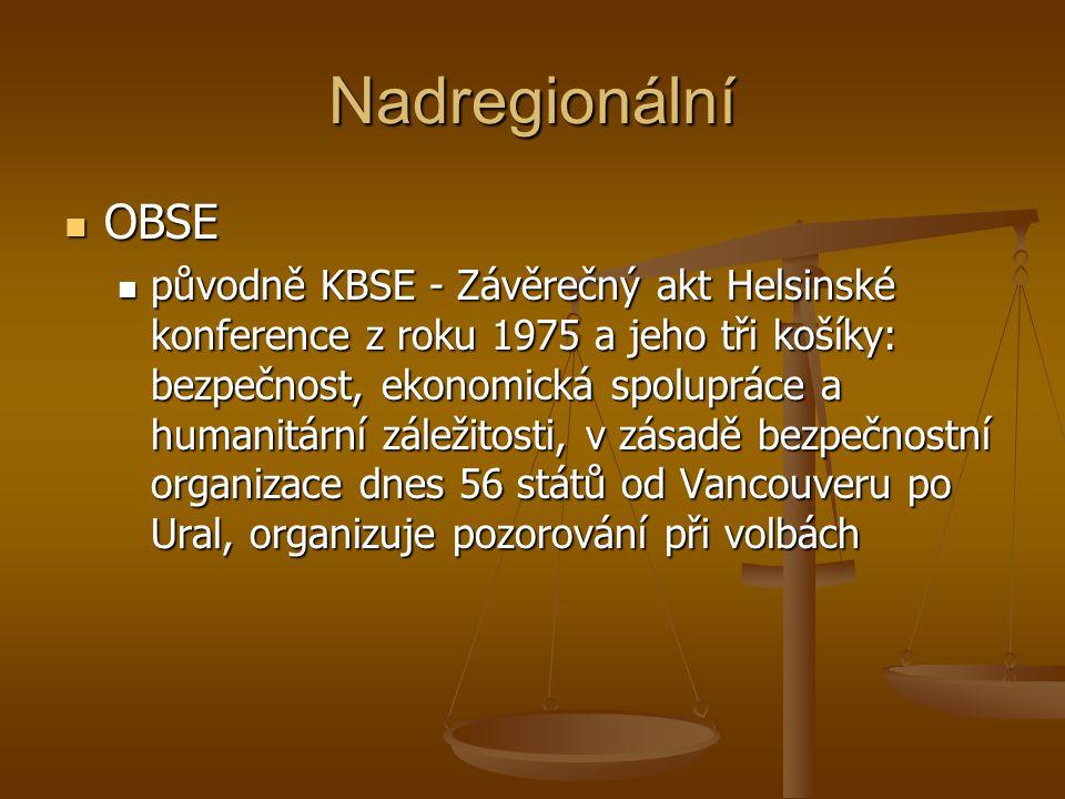 Univerzální – Charter-based bodies Hlavní dokument.