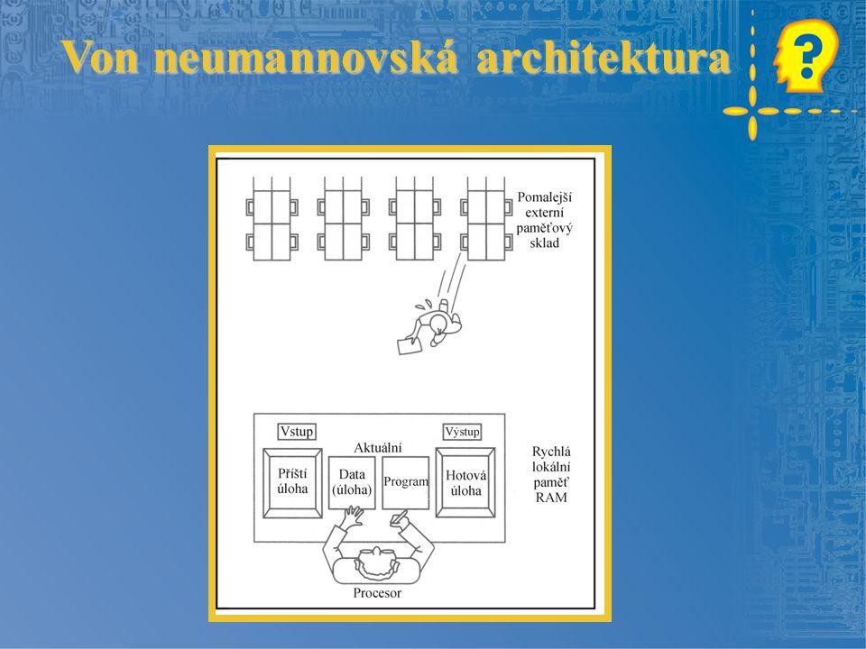 Von neumannovská architektura