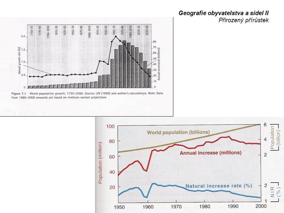 Demografický přechod = přechodné období demografických procesů:  počátek  vlastní přechod  konec Geografie obyvatelstva a sídel II Demografické přechody