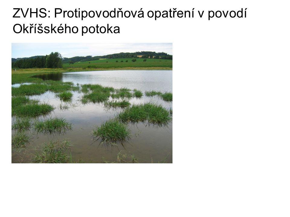ZVHS: Protipovodňová opatření v povodí Okříšského potoka