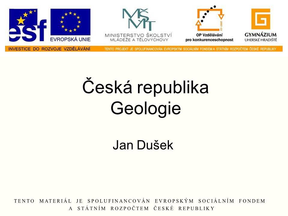 Česká republika Geologie Jan Dušek