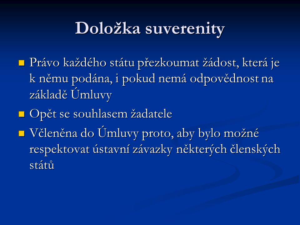 Amsterodamská smlouva Do pěti let přijmout(Článek 63 odst.