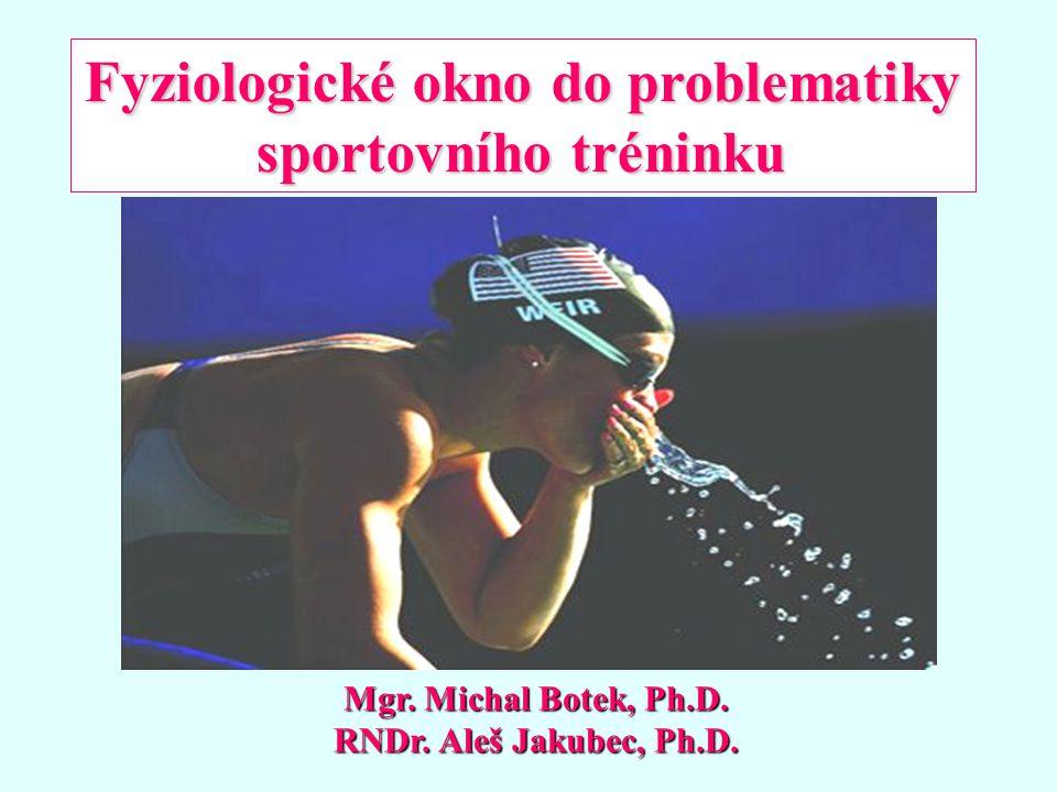 ZOTAVENÍ Doporučený čas pro zotavení po vyčerpávajícím cvičení (Upraveno dle Foxe, 1984) PROCES ZOTAVENÍ MINIMUMMAXIMUM Obnova ATP – CP ve svalu 2 minuty 3-5 minut Náhrada alaktátového O 2 dluhu 3 minuty 5 minut Náhrada O 2 - myoglobinu 1 minuta 2 minuty Náhrada laktátového O 2 dluhu 30 minut 60 minut Resyntéza zásob sval.