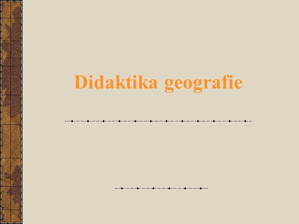 Didaktika geografie