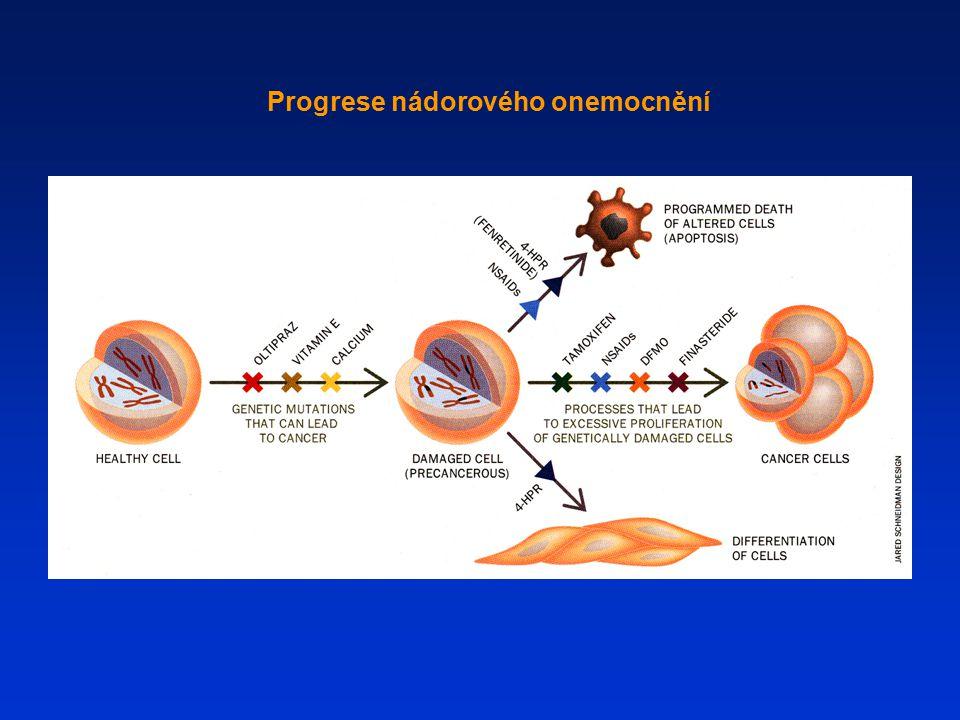 Progrese nádorového onemocnění