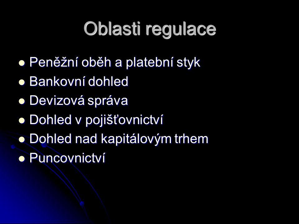 Hlavní cíl činnosti ČNB Podle článku 98 Ústavy ČR a zákona č.6/1993 Sb., o ČNB, ve znění pozdějších předpisů péče o cenovou stabilitu.