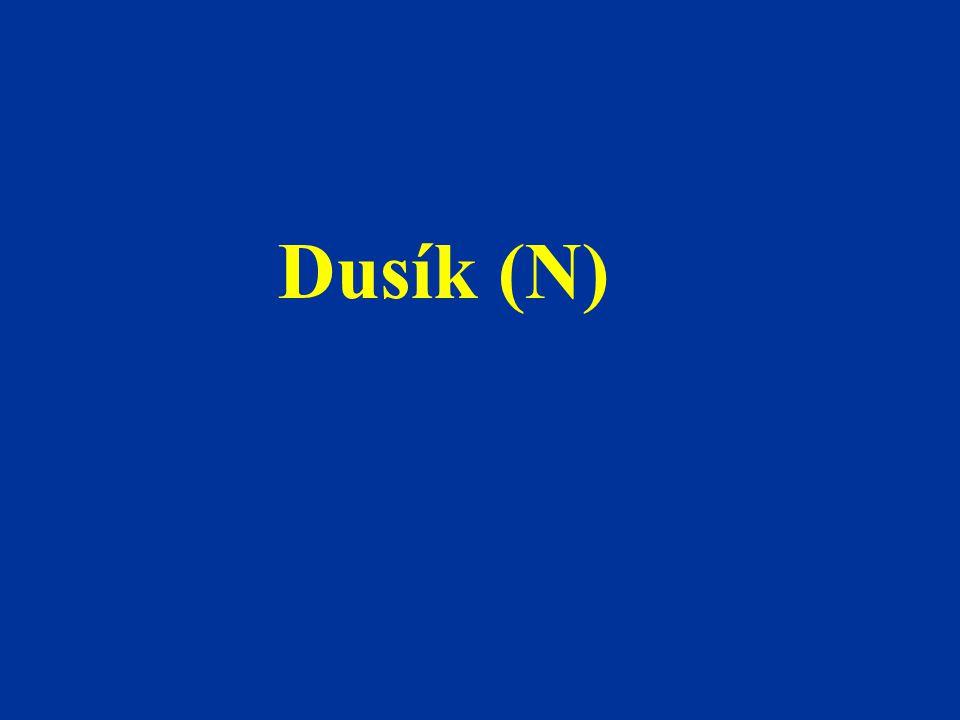 Dusík (N)
