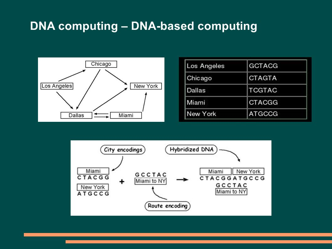 DNA computing – DNA-based computing