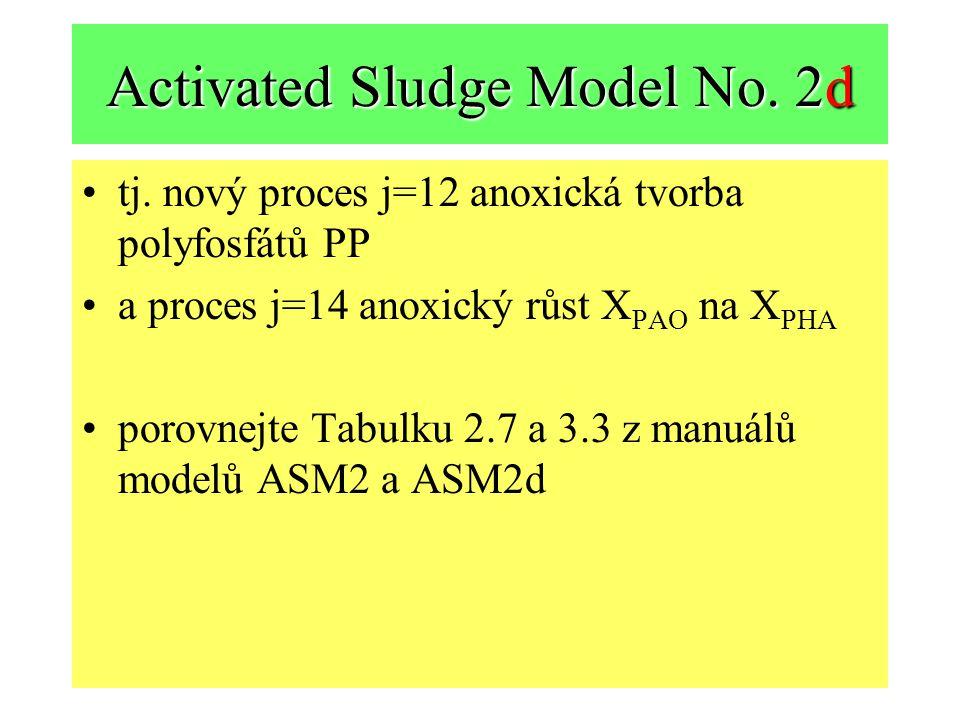 Activated Sludge Model No.2d tj.