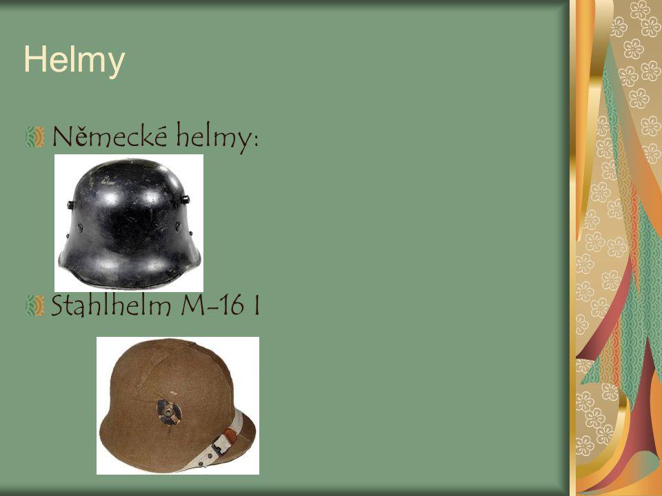 Helmy Německé helmy: Stahlhelm M-16 I