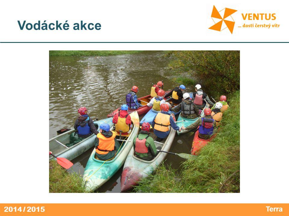 2014 / 2015 Vodácké akce Terra