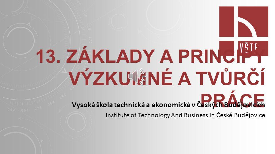 VĚDECKÉ INSTITUCE V ČR zákon 341/2005 Sb.