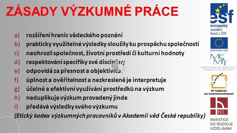 VĚDECKÉ WEBOVÉ SLUŽBY A NÁSTROJE COS Research Support Suite (http://usage.csa.com/usage/usage.php) Academia.edu (http://www.academia.edu/) Mendeley (http://www.mendeley.com/) ResearchGate (http://www.researchgate.net/) Sociální síť informatiků v regionech České republiky (www.sitit.cz)