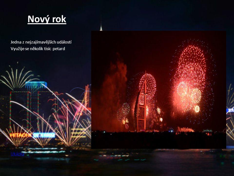 Nový rok Jedna z nejzajímavějších událostí Využije se několik tisíc petard Ukázka