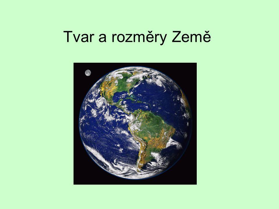 Země má přibližně tvar koule – v minulosti různé názory (např.