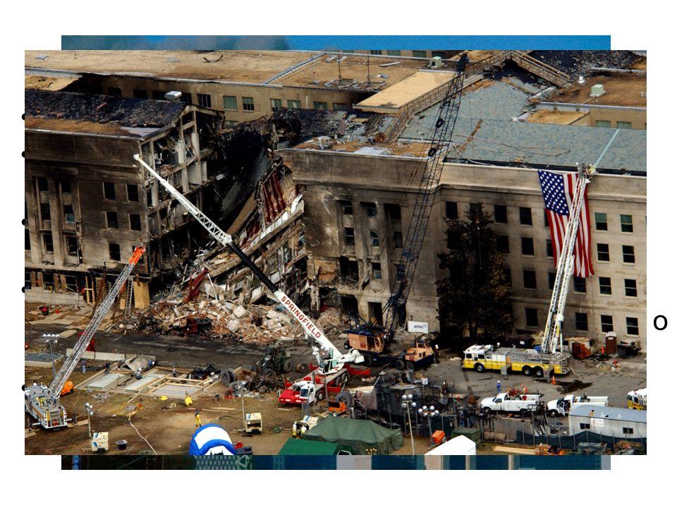 Příklady terorismu Útoky z 11. září 2001 Al - Kajda unesla 4 letadla Dvě z nich narazila do věží Světového obchodního centra v New Yorku Třetí letadlo