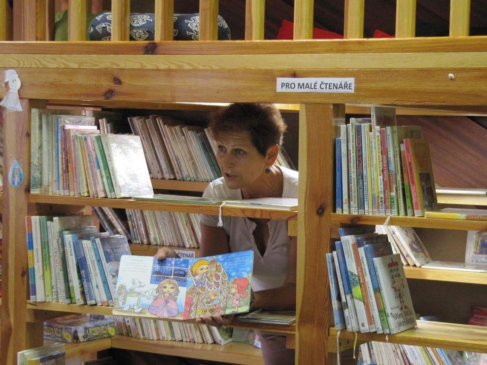 Knihovna – místo, kde chceme být Tučapy