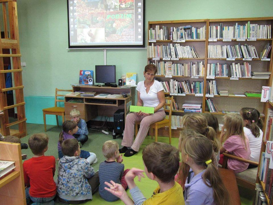 Knihovna – místo, kde chceme být Drslavice