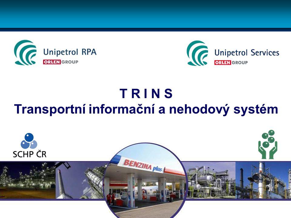 T R I N S Transportní informační a nehodový systém