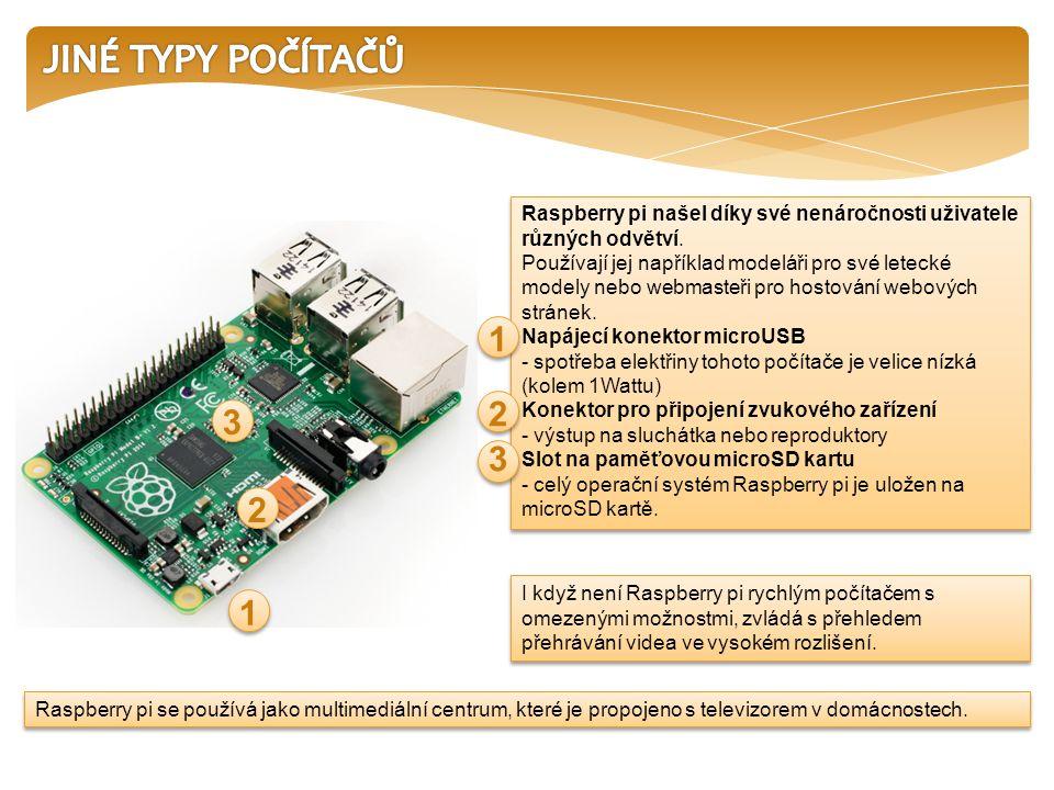 Raspberry pi se používá jako multimediální centrum, které je propojeno s televizorem v domácnostech.