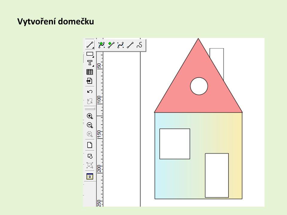 Vytvoření domečku