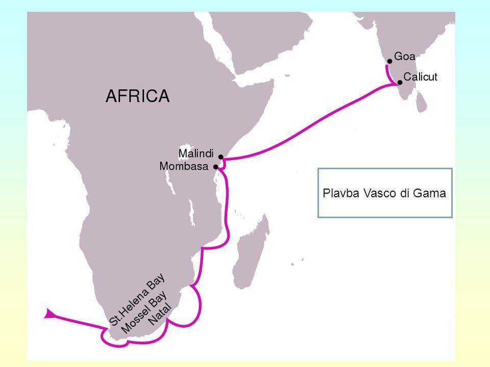 Plavba Vasco di Gama