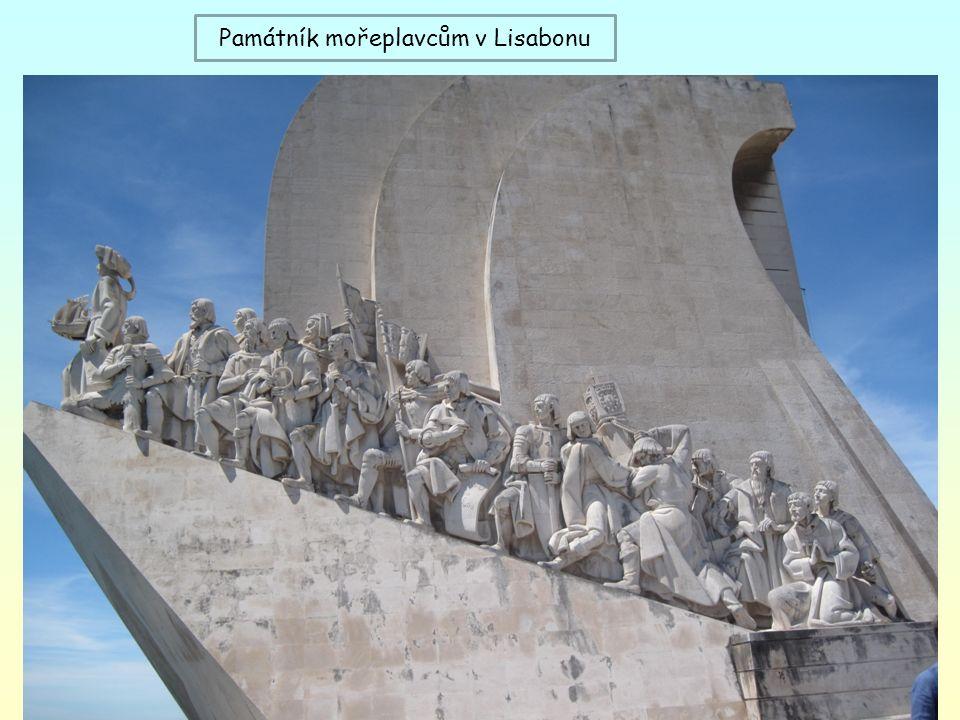 Památník mořeplavcům v Lisabonu