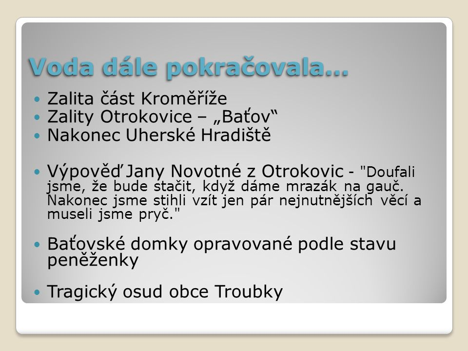 Východní Čechy 5.7.