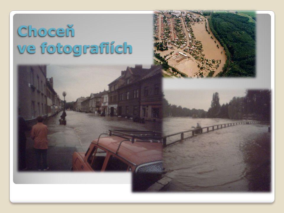 Porovnání – při povodních a dnes