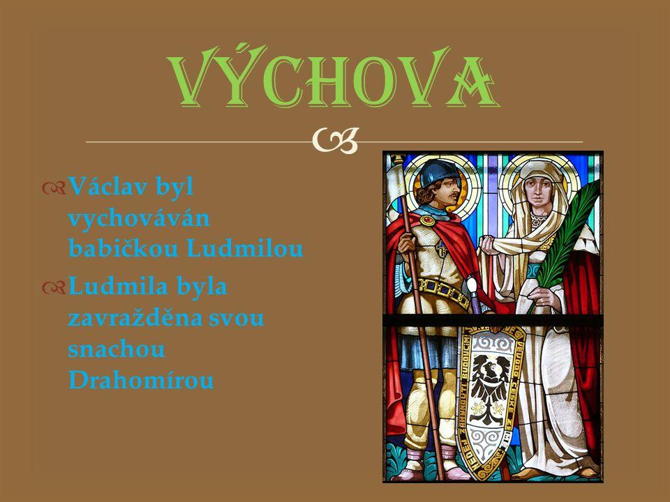   Den české státnosti je:  Drahomíra byla Václavova  Vychováván byl svou babičkou Na špatné možnosti ťukni (špatné odpovědi při ťuknutí zmizí).