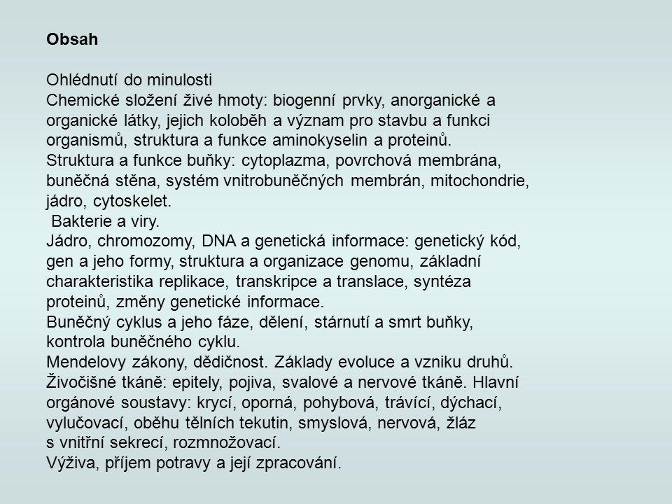 Dějiny biologie Pojetí ve starověku – 3 tis.př.n.l.