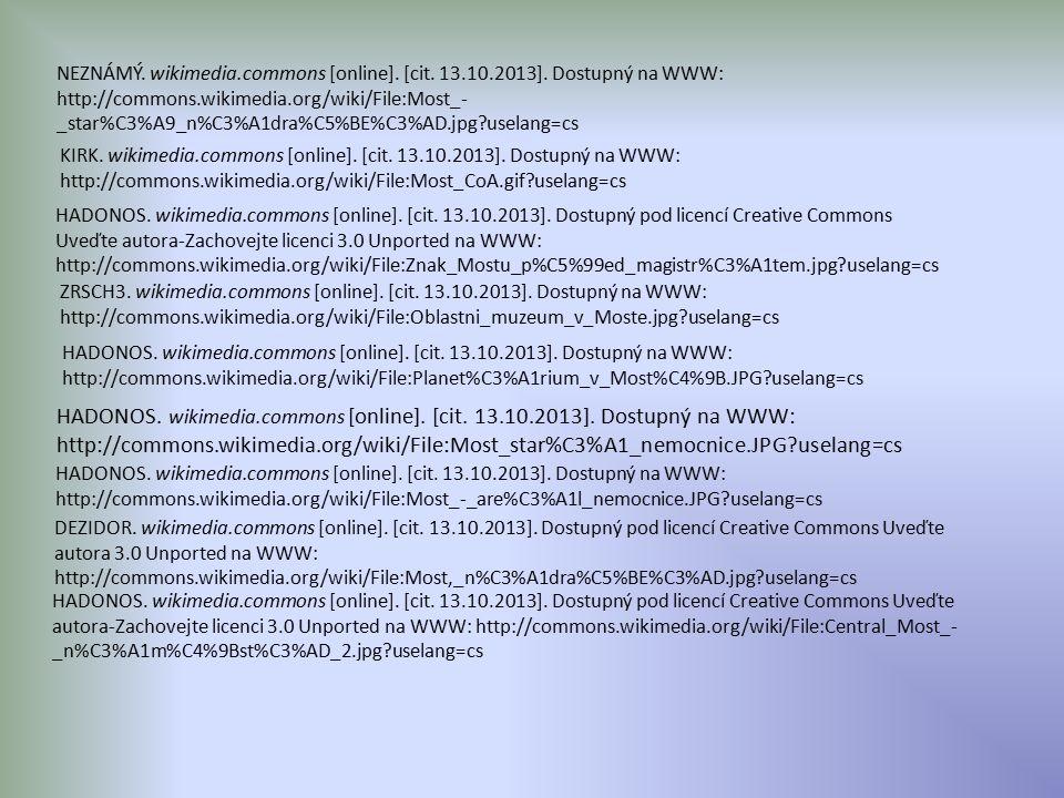 NEZNÁMÝ. wikimedia.commons [online]. [cit. 13.10.2013].