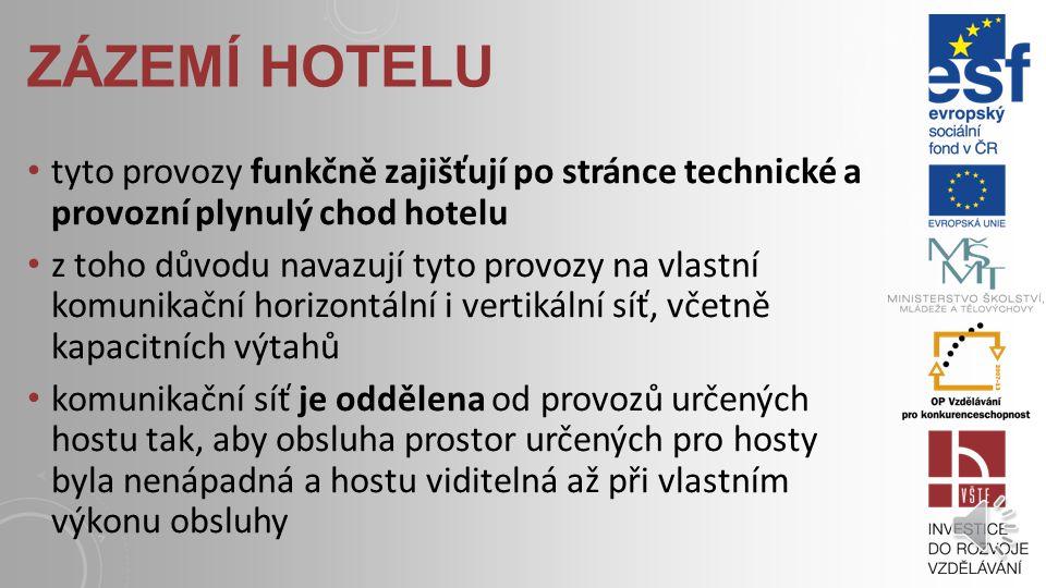 CHARAKTERISTIKA penzion ubytovací zařízení s nejméně 5 pokoji pro hosty, s omezeným rozsahem společenských a doplňkových služeb, avšak s ubytovacími s