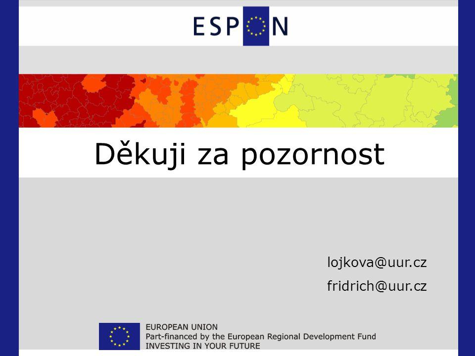 Děkuji za pozornost lojkova@uur.cz fridrich@uur.cz
