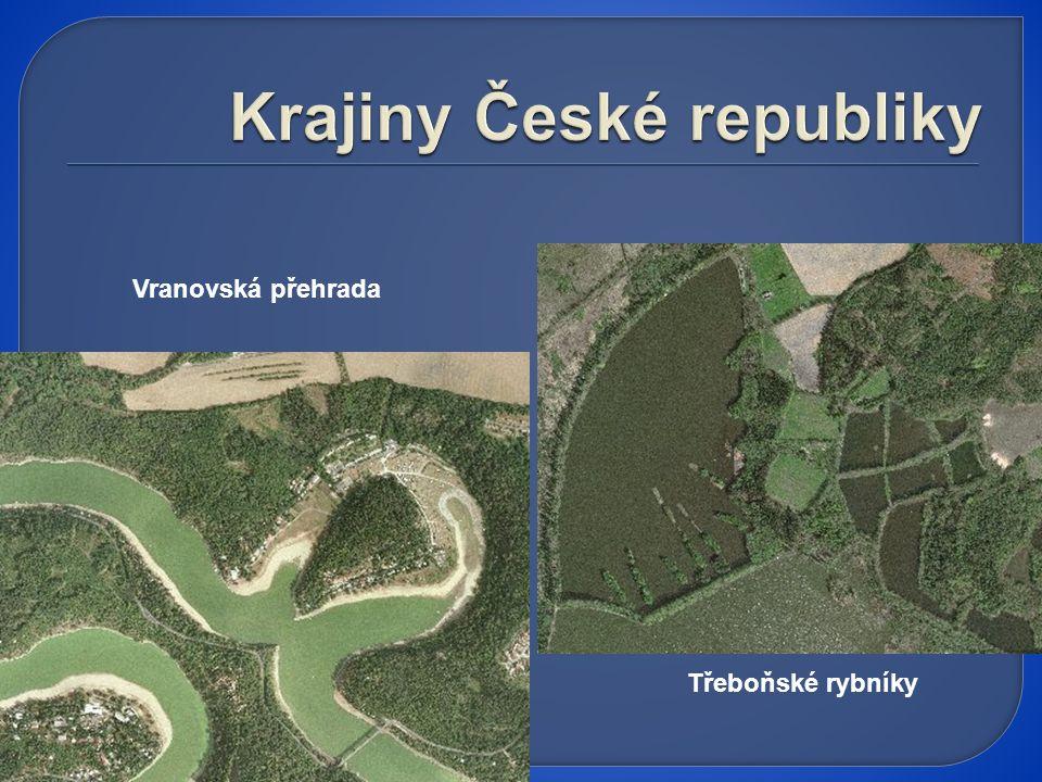 Vranovská přehrada Třeboňské rybníky