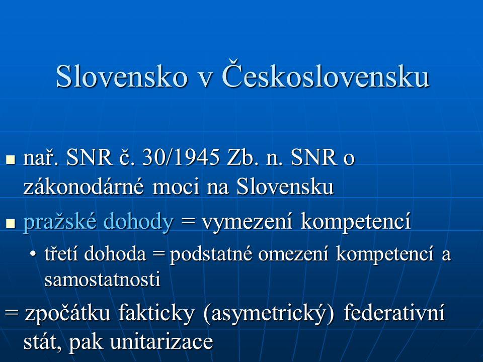 Hospodářské otázky a) národní správa (5/1945 Sb.a 50/1945 Zb.