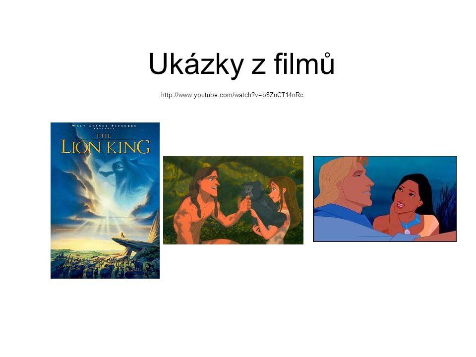 Ukázky z filmů http://www.youtube.com/watch?v=o8ZnCT14nRc