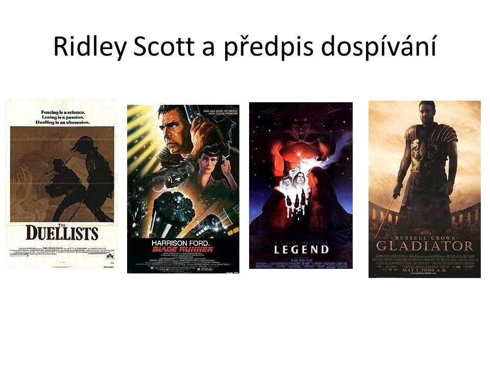 Ridley Scott a předpis dospívání