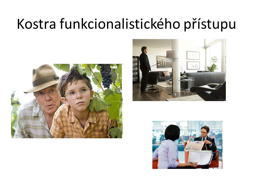 Kostra funkcionalistického přístupu