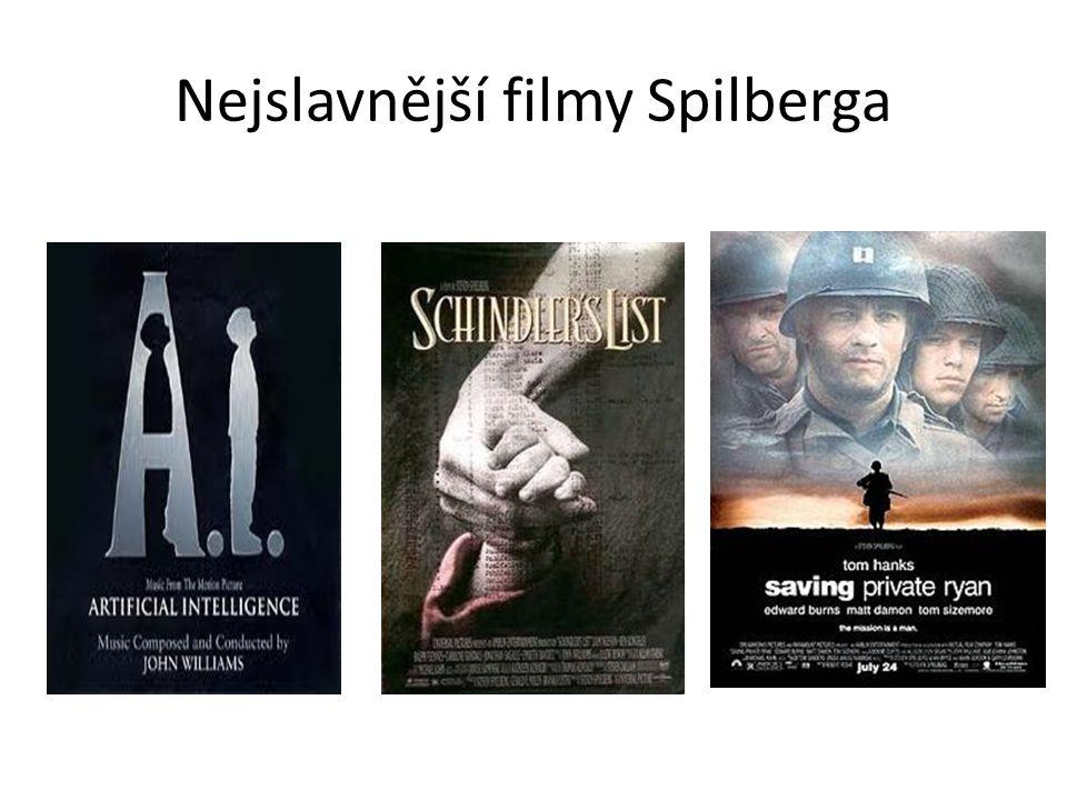 Nejslavnější filmy Spilberga